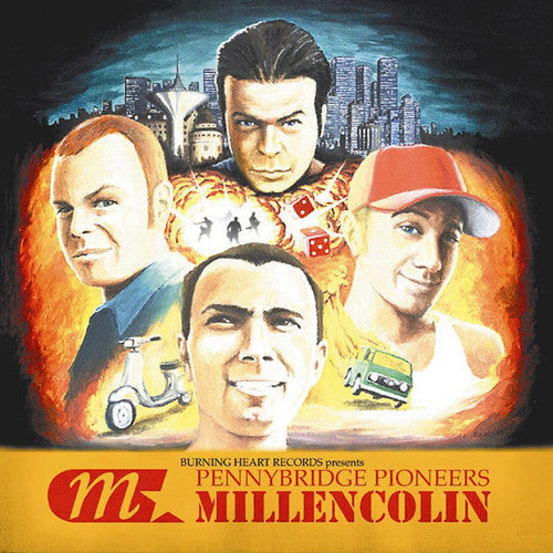 Millencolin ‎– Pennybridge Pioneers LP - Grindpromotion Records