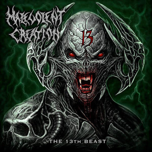 Malevolent Creation ‎– The 13th Beast LP (Neon Yellow Vinyl)
