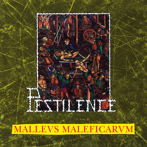 Pestilence ‎– Malleus Malleficarum LP - Grindpromotion Records
