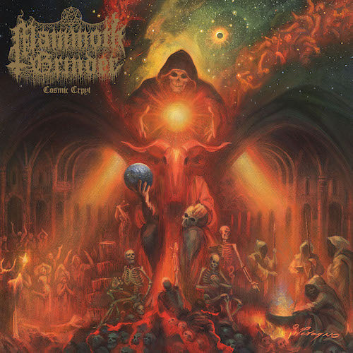 Mammoth Grinder - Cosmic Crypt CD - Grindpromotion Records