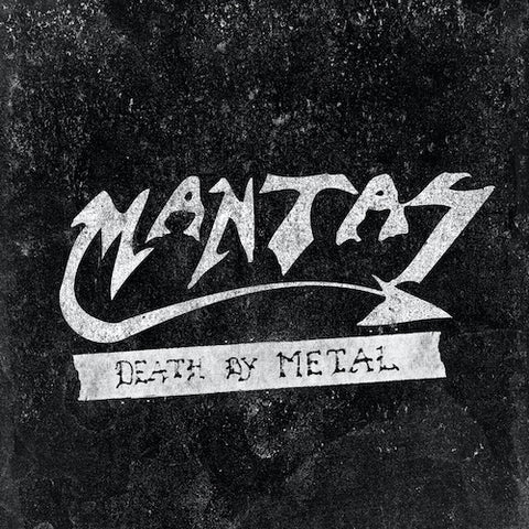 Mantas – Death By Metal LP