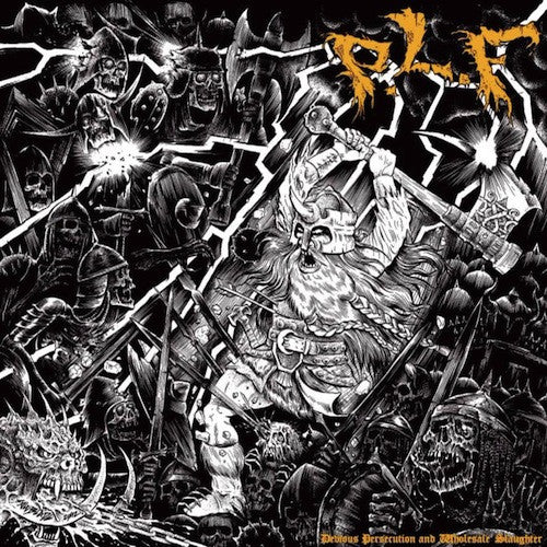 P.L.F. ‎– Devious Persecution And Wholesale Slaughter LP - Grindpromotion Records