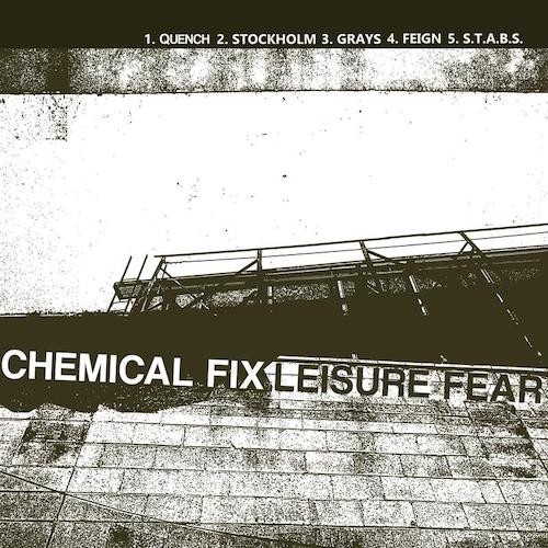 "Chemical Fix - Leisure Fear 7""Flexi (Orange Vinyl) - Grindpromotion Records"