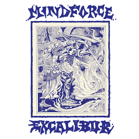 Mindforce ‎– Excalibur LP (Swirl Vinyl)