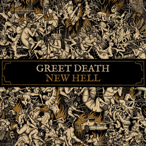 Greet Death - New Hell LP - Grindpromotion Records