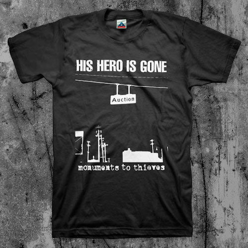 His Hero Is Gone - Monuments T-Shirt - Grindpromotion Records