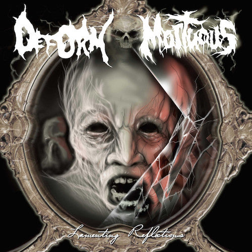 Deform / Mortuous ‎– Lamenting Reflections 7""