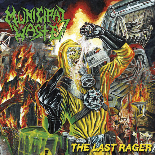 Municipal Waste ‎– The Last Rager LP - Grindpromotion Records