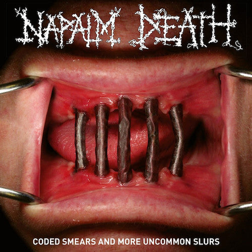 Napalm Death ‎– Coded Smears And More Uncommon Slurs 2XLP - Grindpromotion Records