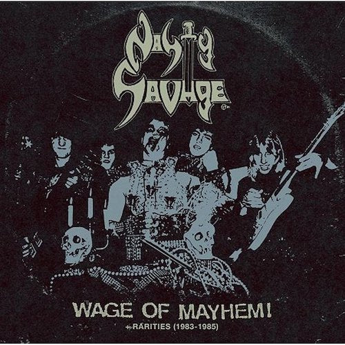 Nasty Savage ‎– Wage Of Mayhem + Rarities (1983-1985) LP - Grindpromotion Records