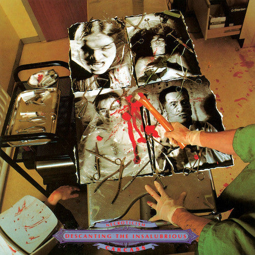 Carcass ‎– Necroticism - Descanting The Insalubrious LP - Grindpromotion Records