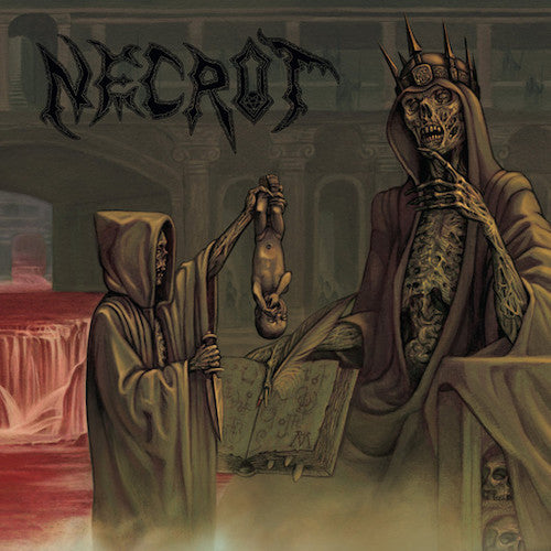 Necrot ‎– Blood Offerings LP (Green Vinyl)