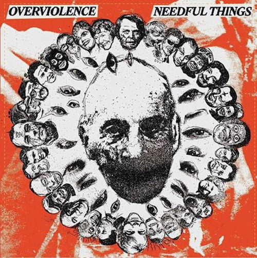 "Needful Things / Overviolence ‎– Needful Things / Overviolence 7"" - Grindpromotion Records"