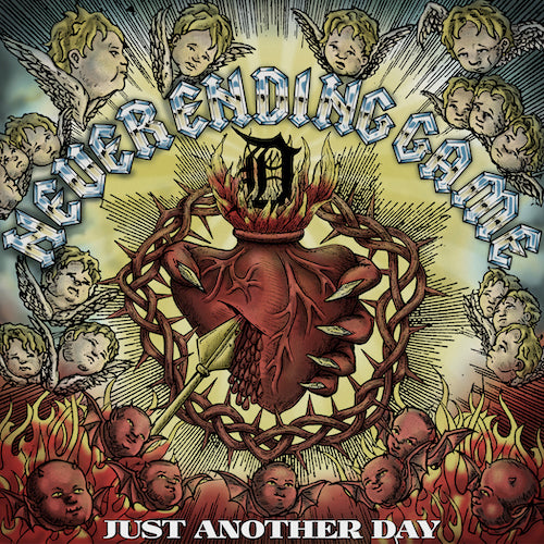 Never Ending Game ‎– Just Another Day LP - Grindpromotion Records