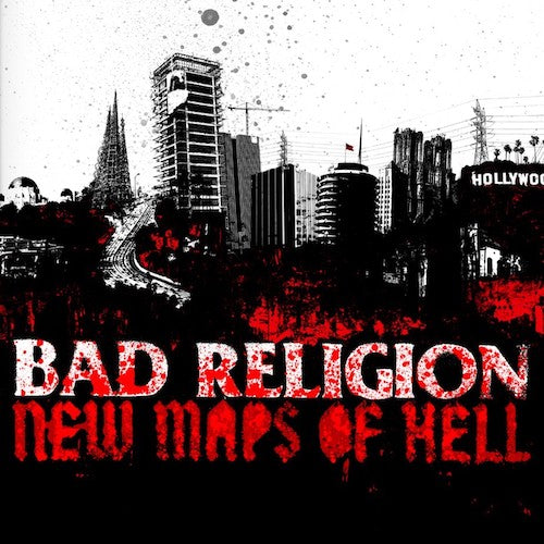 Bad Religion ‎– New Maps Of Hell LP - Grindpromotion Records