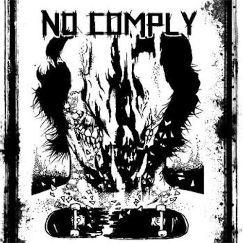 "No Comply ‎– No Comply 7"" (Violet Vinyl) - Grindpromotion Records"