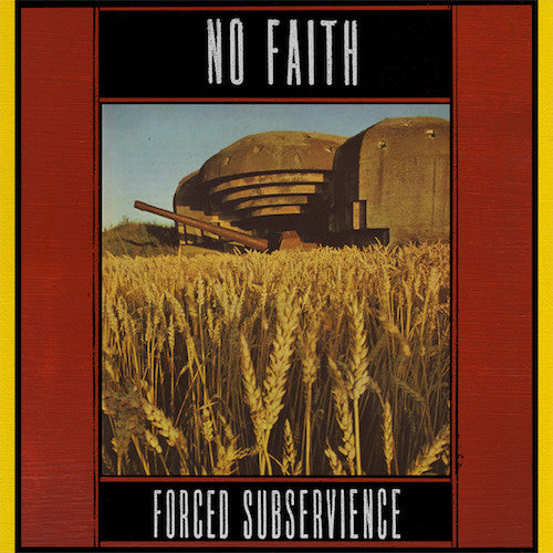 No Faith ‎– Forced Subservience LP - Grindpromotion Records