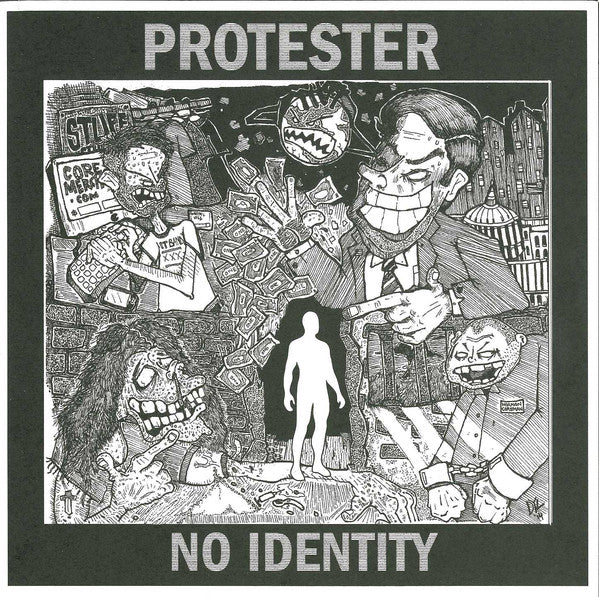 "Protester ‎– No Identity 7"" - Grindpromotion Records"