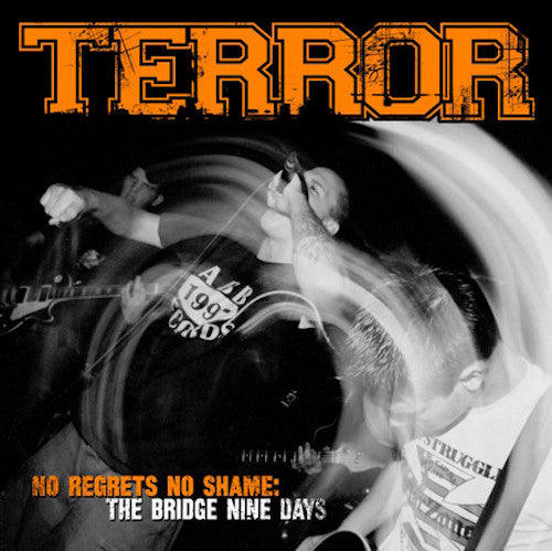 Terror ‎– No Regrets No Shame: The Bridge Nine Days LP (Orange Translucent / Smoke Split Vinyl)