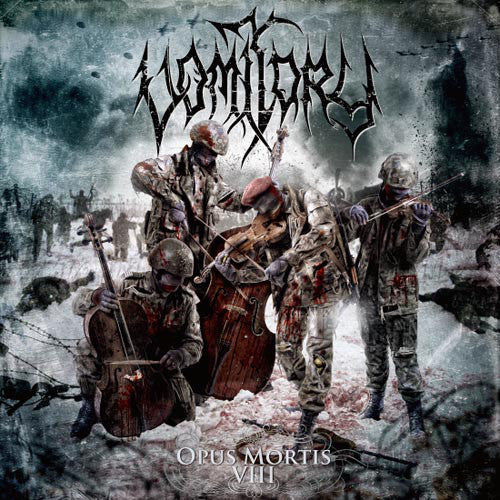 Vomitory ‎– Opus Mortis VIII LP - Grindpromotion Records