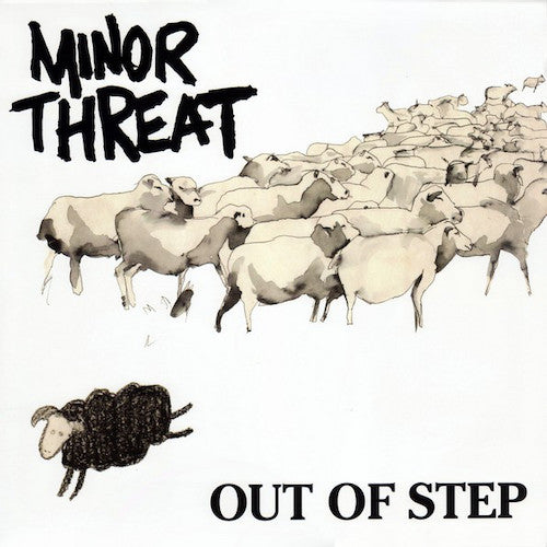 Minor Threat ‎– Out Of Step LP - Grindpromotion Records