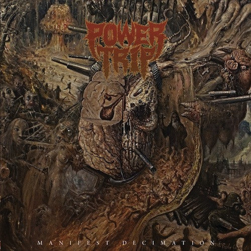 Power Trip ‎– Manifest Decimation LP (Silver Vinyl)