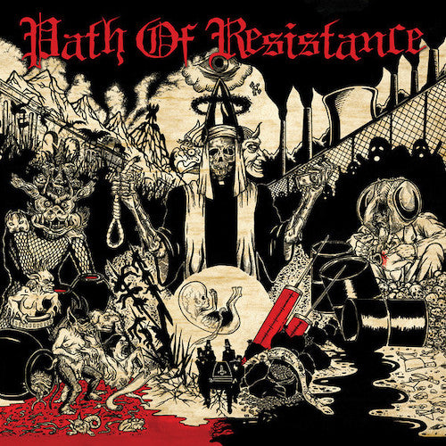 Path Of Resistance ‎– Can't Stop The Truth LP - Grindpromotion Records