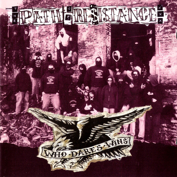 Path Of Resistance ‎– Who Dares Wins LP - Grindpromotion Records