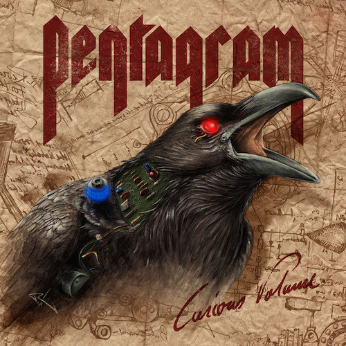 Pentagram ‎– Curious Volume LP - Grindpromotion Records