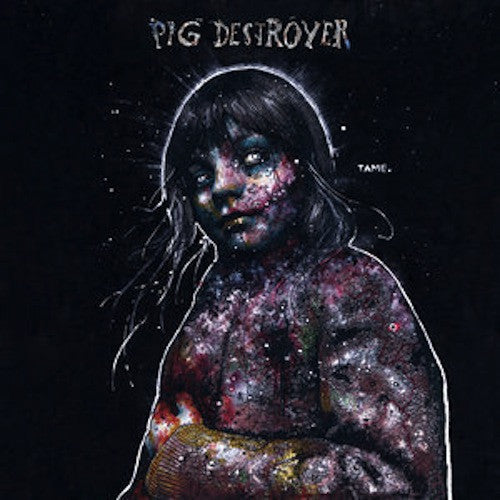 Pig Destroyer ‎– Painter Of Dead Girls LP (Grey / Vioet Vinyl)