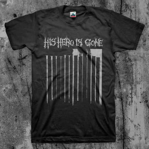 His Hero Is Gone - Plot Sickens T-Shirt - Grindpromotion Records
