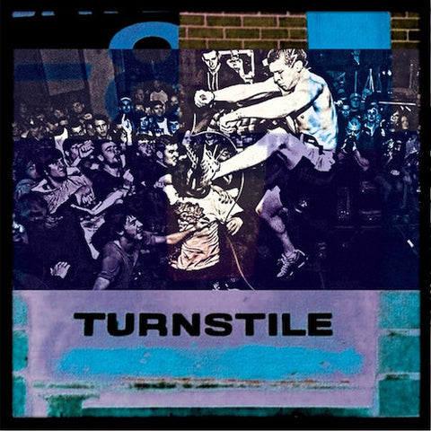 "Turnstile ‎– Pressure To Succeed 7"" (Clear Vinyl)"
