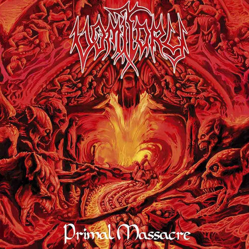 Vomitory ‎– Primal Massacre LP - Grindpromotion Records