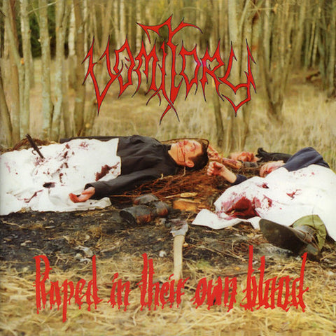 Vomitory ‎– Raped In Their Own Blood LP