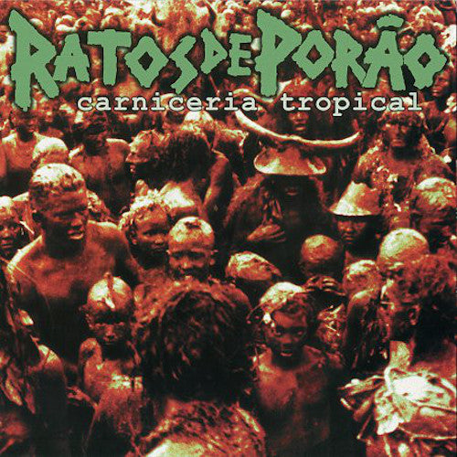 Ratos De Porão ‎– Carniceria Tropical LP - Grindpromotion Records