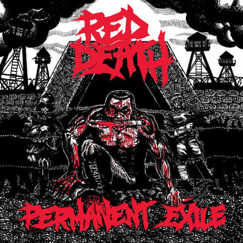 Red Death ‎– Permanent Exile LP - Grindpromotion Records