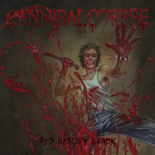 Cannibal Corpse ‎– Red Before Black LP (180g Vinyl) - Grindpromotion Records