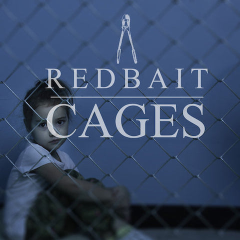 "Redbait ‎– Cages 7"" (Transparent Pink)"