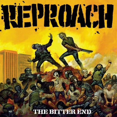 Reproach ‎– The Bitter End LP (Red Vinyl) - Grindpromotion Records