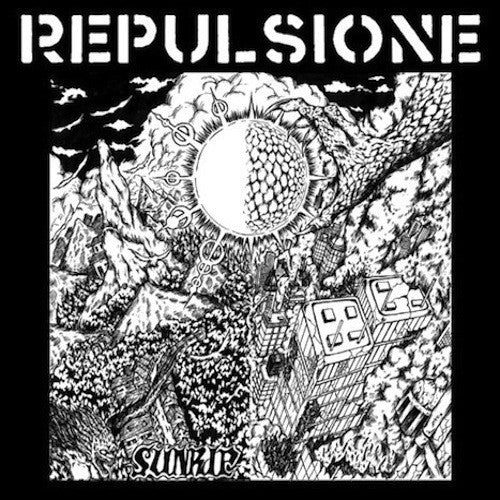 Repulsione - Sunrip LP - Grindpromotion Records