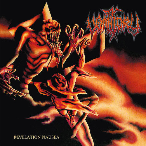 Vomitory ‎– Revelation Nausea LP (Orange Red Marbled Vinyl Limited 200 Copies)