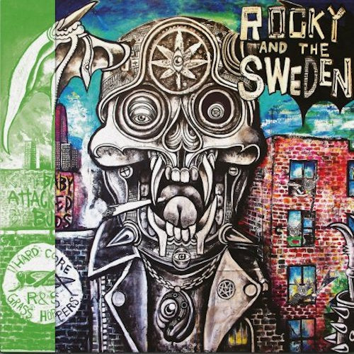 Rocky And The Sweden ‎– City Baby Attacked By Buds LP - Grindpromotion Records