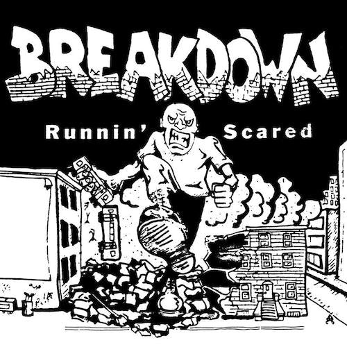 Breakdown - Runnin' Scared LP - Grindpromotion Records