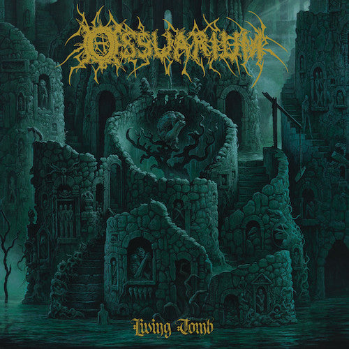 Ossuarium ‎– Living Tomb LP - Grindpromotion Records