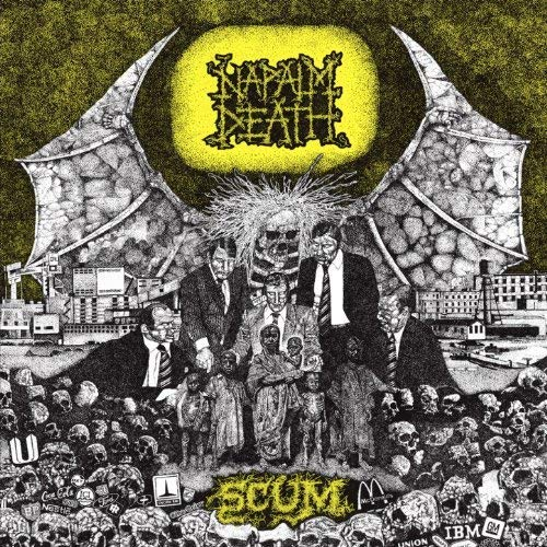 Napalm Death ‎– Scum LP
