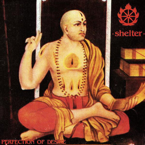 Shelter ‎– Perfection Of Desire LP (Orange Vinyl)
