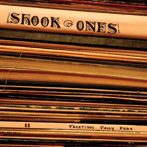 Shook Ones ‎– Facetious Folly Feat LP (Orange Vinyl) - Grindpromotion Records