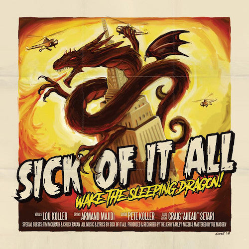 Sick Of It All ‎– Wake The Sleeping Dragon! LP+CD - Grindpromotion Records