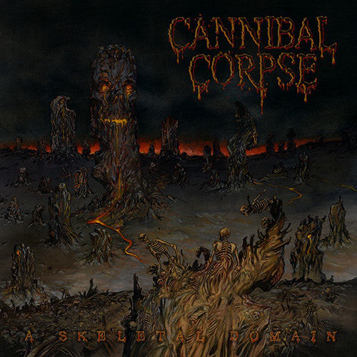 Cannibal Corpse ‎– A Skeletal Domain LP (180g Vinyl) - Grindpromotion Records
