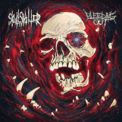 Skullshitter / Bleeding Out - Skullshitter / Bleeding Out LP - Grindpromotion Records